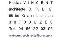 Nicolas VINCENT architecte