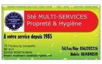 EURL MULTISERVICES PROPRETE HYGIENE MONTAUBAN 82