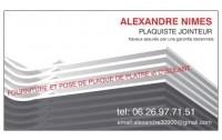 ALEXANDRE NIMES PLAQUISTE JOINTEUR