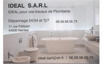IDEAL sarl Plomberie/Chauffage/Sanitaire