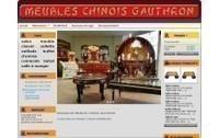 meubles chinois laqués tibétains